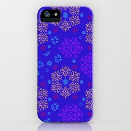 Fantasy flowers and leaves iPhone Case