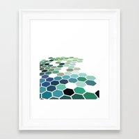 colorado Framed Art Prints featuring Colorado by Bakmann Art