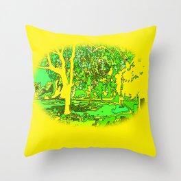 Park2 Throw Pillow