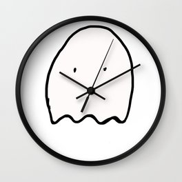 a ghost Wall Clock
