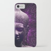 meditation iPhone & iPod Cases featuring Meditation by JG-DESIGN