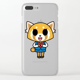 Aggretsuko Loves You! Clear iPhone Case