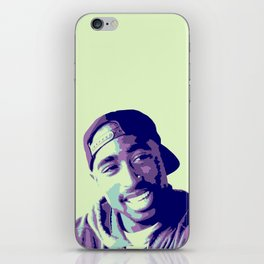 Tupac iPhone Skin