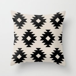 Southwestern Pattern 541 Throw Pillow