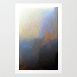 Pixel Sorting 42 Art Print
