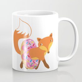 Fox and doughnut Coffee Mug