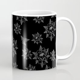 Black peony Coffee Mug