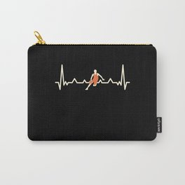 Funny Bball Basketball Heartbeat Gift Carry-All Pouch