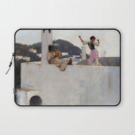 John Singer Sargent - Capri Laptop Sleeve