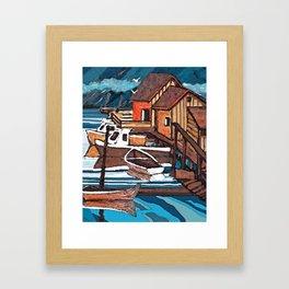 Wiley's Cove Framed Art Print