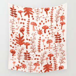Autumn Reds Wall Tapestry