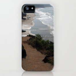 Steps Down to the Beach Varkala iPhone Case