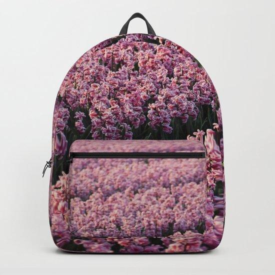 Hyacinth field Backpack