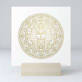 Tutankhamun Mandala – Egypt Mini Art Print