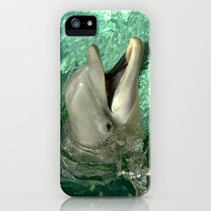 Smiling Dolphin Slim Case iPhone (5, 5s)