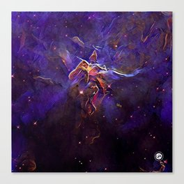 ALTERED Hubble 20th Anniversary Canvas Print