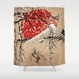 Japan Fishermen Shower Curtain