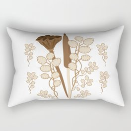 Seeds and Pods Rectangular Pillow