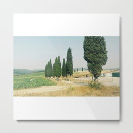 Tuscany Country Metal Print