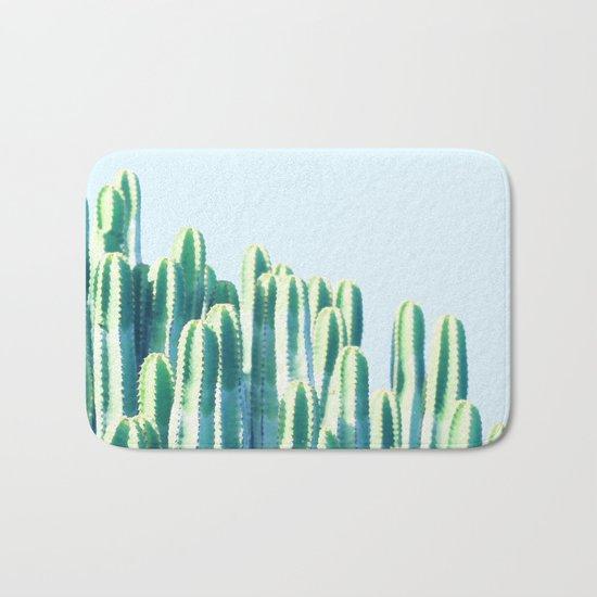 Cactus by the Sea #society6 #decor #buyart Bath Mat
