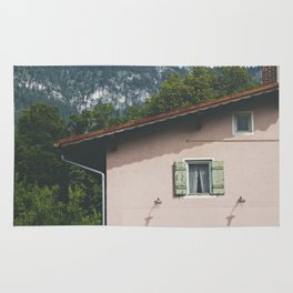 Pink Alpine House Rug