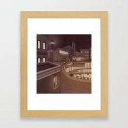 Docking Station Framed Art Print
