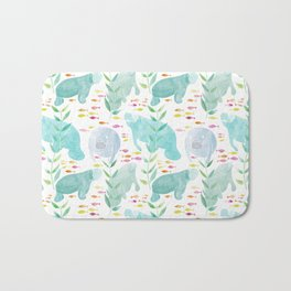 Lazy Manatees Bath Mat