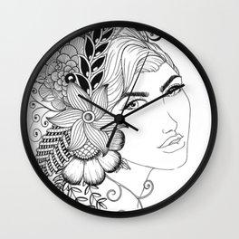 Garden Beauty Wall Clock
