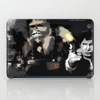 han solo iPad Cases featuring Han Solo & Chewbacca by Berta Merlotte