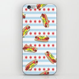 Chicago Hot Dogs iPhone Skin