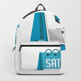 Hello Free Time Days Workaholic Gift Backpack