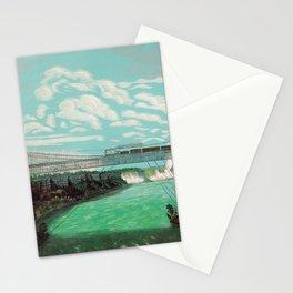 The Great International Railway Suspension Bridge and Niagara Falls - 1876 Stationery Cards