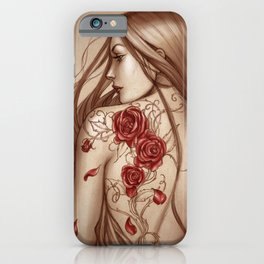 Rose Tattoo iPhone Case
