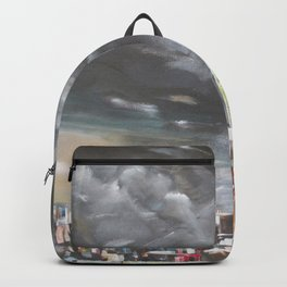 Storm Over the City Backpack