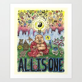All Is One Art Print