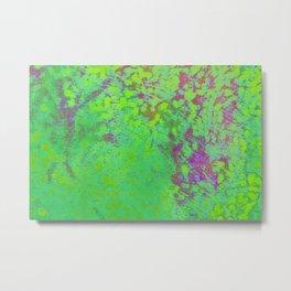 Green and violet mixed colors  Metal Print