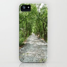 The Solemn Path, Killing Fields, Cambodia iPhone Case