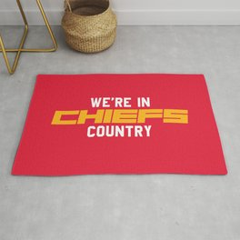 We're in Chiefs Country Rug