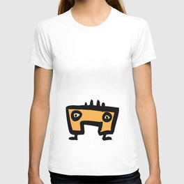 chalkboard wallies colorful pop art T-shirt