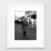 godfather Framed Art Prints featuring Lonely GodFather by Adrian Szysler