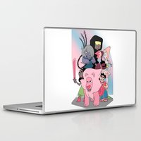 steven universe Laptop & iPad Skins featuring Steven Universe by Laura Pulido