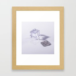 Iced Tea Framed Art Print