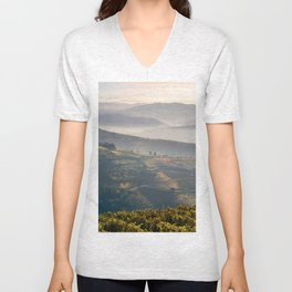 Vineyards, the Vale do Douro near Regua Unisex V-Neck