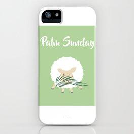 Palm Sunday Lamb Of God iPhone Case