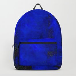 Electric Blue Glow Backpack