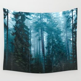 Hard roads ahead Wall Tapestry