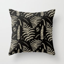 Fern Pattern 2 Throw Pillow