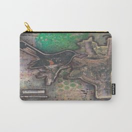 redstart bird canvas collage Carry-All Pouch