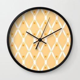 Golden Integration 2 Wall Clock