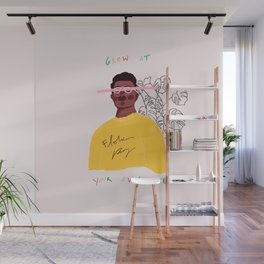 Grow At Your Own Pace Wall Mural